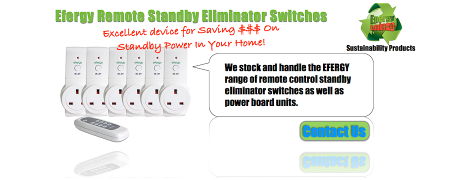 Efergy Energy Saving Devices Now Available