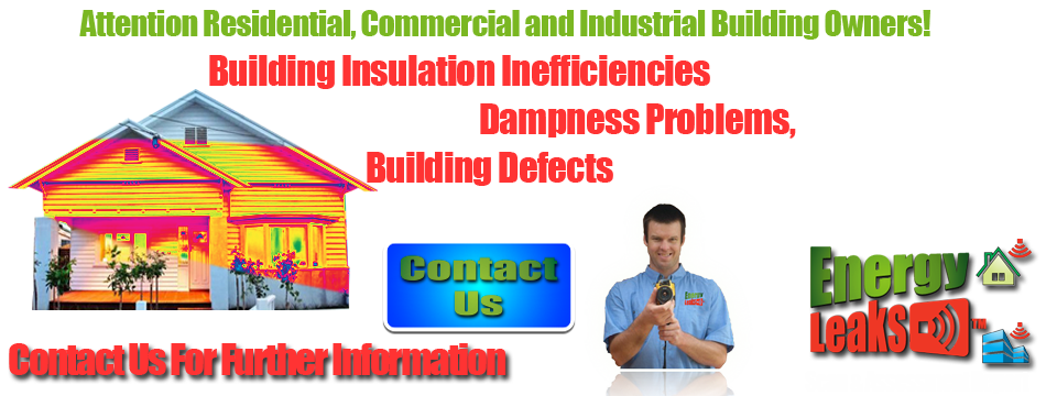Detecting leaks in all buildings- SAVE on your energy bills